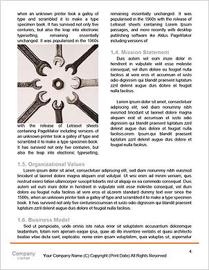 Механика инструменты набор, изолированных на белом фоне Словарные шаблоны - Страница 4