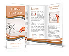Pencil drawing as illustraion of risks and challenges inbusiness Brochure Templates