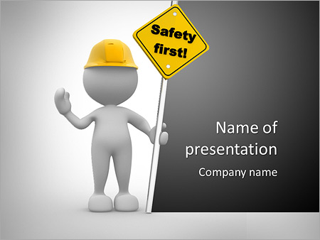 safety powerpoint template smiletemplates com