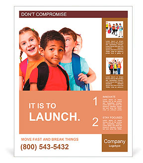 Kids ready back to school poster template design id 0000010147 kids ready back to school poster template maxwellsz