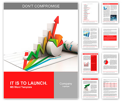 3d business growth graph word template design id 0000010149 3d business growth graph word template spiritdancerdesigns Image collections