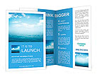 Blue sea Brochure Templates