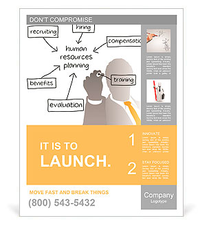 Enterprise hr manager drawing a company human resources business enterprise hr manager drawing a company human resources business plan poster template wajeb Gallery