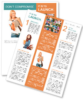 college newsletter template smiletemplates com