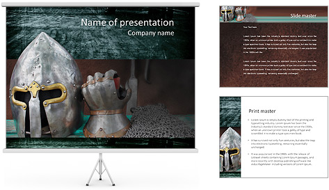 medieval powerpoint template