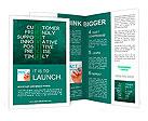 Customer service concept on blackboard-customer friendly support Brochure Templates
