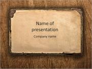 Old book page. grunge textured background PowerPoint Templates