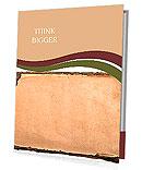 Old book page. grunge textured background Presentation Folder
