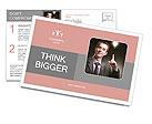 Business Idea concept Postcard Template