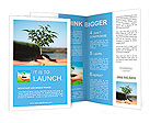 Plant in hands Brochure Templates