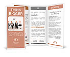 Employees with special skills wanted concept - job candidates, the yoga master Brochure Templates