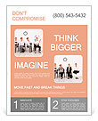 Employees with special skills wanted concept - the juggler Flyer Template