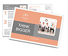 Employees with special skills wanted concept - the juggler Postcard Template