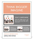 Employees with special skills wanted concept - the juggler Poster Template