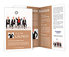Right attitude - stand out from the crowd concept Brochure Templates