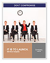 Right attitude - stand out from the crowd concept Word Templates