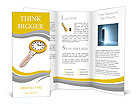 Clock-Key. Concept of Successful time management or other. 3d illustration. Brochure Templates
