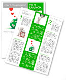 Love the earth concept, 3d man hugging green globe on white background Newsletter Templates