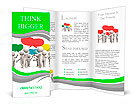 Discuss/debate/Seve ral people are discussed Brochure Templates