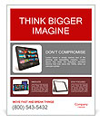 Tablet PC Poster Template