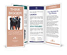 Group of business people. Business team. Brochure Templates