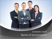 Group of business people. Business team. PowerPoint Templates