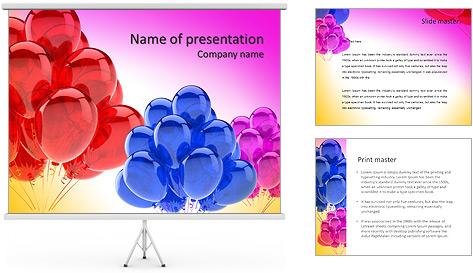 Шаблоны для презентаций с днем рождения