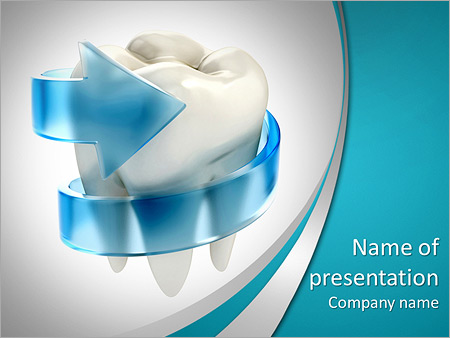Teeth protection 3d concept powerpoint template backgrounds id teeth protection 3d concept powerpoint templates pronofoot35fo Images