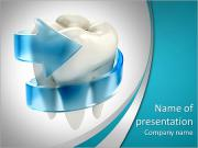 Teeth protection 3d concept PowerPoint Templates