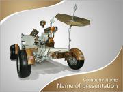 Cap Canaveral, Floride-DEC 28: Le Lunar Roving Vehicle d'Apollo 17 s'affiche à la NASA, Kennedy Space C Modèles des présentations  PowerPoint