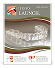 Denture with braces Flyer Template