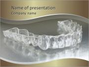 Denture with braces PowerPoint Templates