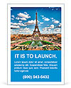 Eiffel tower Ad Templates