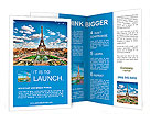 Eiffel tower Brochure Templates