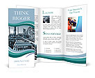 Oil and gas heavy industry Brochure Templates