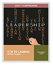 Business hand writing leadership skill Word Templates