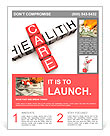 Health Care concept Flyer Templates
