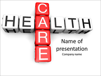 Health Care concept PowerPoint Template