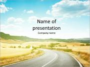 Italy powerpoint template smiletemplates winding road in italy powerpoint templates toneelgroepblik Choice Image