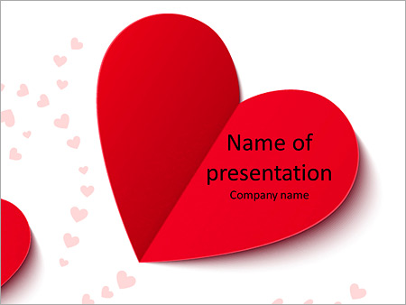Beautiful valentine card with heart shaped powerpoint template beautiful valentine card with heart shaped powerpoint template toneelgroepblik Image collections