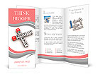 Crossword of the word profit Brochure Templates