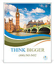 Big Ben in London Poster Template