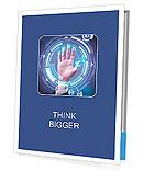 Fingerprint scan Presentation Folder