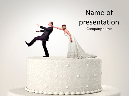 wedding - powerpoint template - smiletemplates, Powerpoint templates