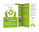 Sign ecology save nature together Brochure Template