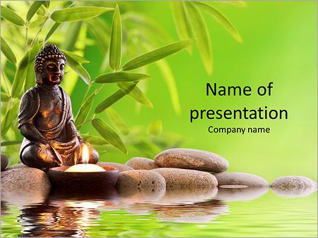 Buddha in meditation powerpoint template backgrounds id buddha in meditation powerpoint templates toneelgroepblik Gallery