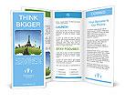 Wonderful European vacation Brochure Templates
