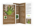 Hand made ​​from leaves Brochure Templates