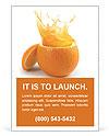 Juicy orange Ad Template