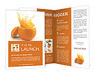 Juicy orange Brochure Template